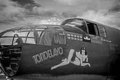 2015_05_31 North American B-25 Mitchell  Buchanan Field_03BW (Walt Barnes) Tags: blackandwhite bw canon eos blackwhite aviation military monotone calif mitchell concord bomber topaz b25 collingsfoundation tondelayo heavybomber northamericanb25mitchell 60d buchananairfield canoneos60d eos60d topazbweffects topazblackwhiteeffects wdbones