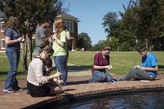 BLUE8017 (David J. Thomas) Tags: summer students science highschool research math arkansas biology speleology batesville upwardbound lyoncollege ubms biospeleology