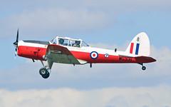 G-BYHL WG308 D.H.C. 1 Chipmunk T10 (PlanecrazyUK) Tags: fly in sturgate 070615 gbyhl wg308 egcv dhc1chipmunkt10