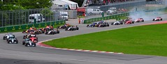 Cars entering Senna S (ericok) Tags: canada montreal grand canadian grandprix prix gp 2015 f1gp canadiangrandprix