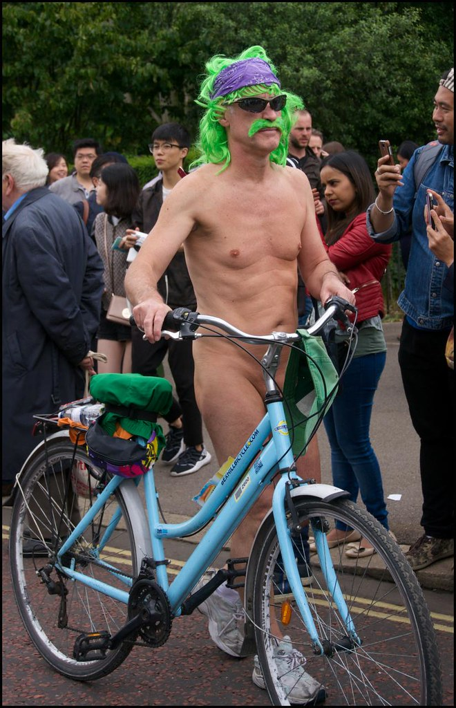 Excellent pictures of nudist bike protesters what