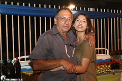 IMG_2873 (Streamer -  ) Tags: old people music beach night marina fun israel stage  pablo young teen shows whit streamer rozenberg preformers         parnas   ashqelon askelon