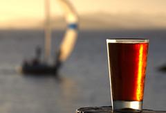 Friday (lenswrangler) Tags: lenswrangler flickrfriday sightforsoreeyes digikam beer yacht sailboat berkeley berkeleyyachtclub marina sailing spinnaker race boat sunset evening dof depthoffield