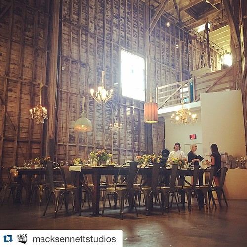 We loved being a part of tonight's event! #NeueHouse @macksennettstudios with @repostapp. ・・・ Beautiful dinner in our Woodshop tonight courtesy of the amazing people at #NeueHouse and #GooglePlay. Food by none other than the incomparable Chris Taylor of G