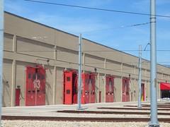 Jordan River Rail Service Center (CrispyBassist) Tags: railroad train railway saltlakecity lightrail uta trax lrv utahtransitauthority