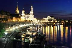 Dresden (bennychun) Tags: architecture germany dresden zwinger dom saxony arcade dome baroque deutsche televisiontower