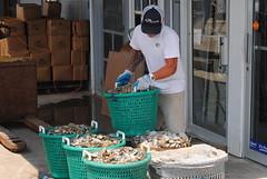 Harris Crab House (Moon Rhythm) Tags: easternshore maryland harriscrabhouse mdlivin clams chesapeakebay restaurant seafood yearround onthebay regional local pedicle baskets dayscatch favoriteplaces bushels