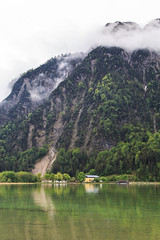 Aachensee, Austria - 2 (www.bazpics.com) Tags: lake holiday alps green water austria see tirol town urlaub may mai alpine maurach oesterreich 2015 aachensee at