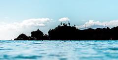 Black Rock 7.19.15 (airinnajera) Tags: ocean blue summer black beach water rock swim canon hawaii waves snorkel maui shore 7d aloha blackrock kaanapali bestbeach