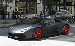 Lamborghini Huracán LP610-4 (SPV Automotive) Tags: black sports car huracan exotic lamborghini coupe supercar matte lp6104