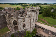 Raglan Castle (ghostwheel_in_shadow) Tags: castle wales europe unitedkingdom ruin raglan fortification gatehouse monmouthshire publicarchitecture architecturalelement englandandwales militarystructures architectureandstructures