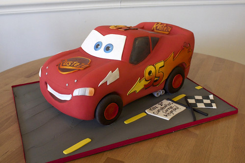 Lightning McQueen Sculpted