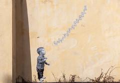 Whitstabubble (celie) Tags: uk streetart wall graffiti kent mural artist whitstable catman whitstabubble
