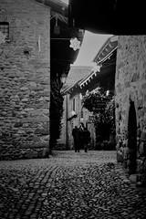 Ricetto di Candelo (Biella) (Massimo Caccia) Tags: blackwhite bw blackandwhite biancoenero candelo ricetto ricettodicandelo piemonte biella borgo mura torre