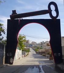 """""""Key of return"""" in kamp Aida"""