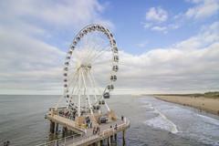 IMG_0706 (digitalarch) Tags: 네덜란드 스헤브닝겐 nederland scheveningen 바다 sea 관람차 ferris wheel