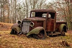 Rolling No More (Laymons Pics) Tags: oldtrucks virginia rustyobjects rust abandoned