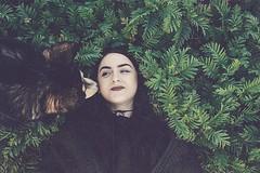 (susahneadlerberg) Tags: dog outside mothernature nature green collie malamute