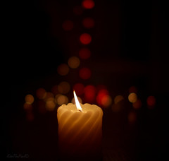 Sometimes.... (KissThePixel) Tags: love worry candle light flame pray bokeh tonight hope dog family stilllife stilllifephotography nikondf nikon sigma tomorrow flicker flickr