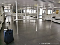 Empty Ferry (djhsilver) Tags: toronto gta gotrain go train air travel flying clouds harbourfront