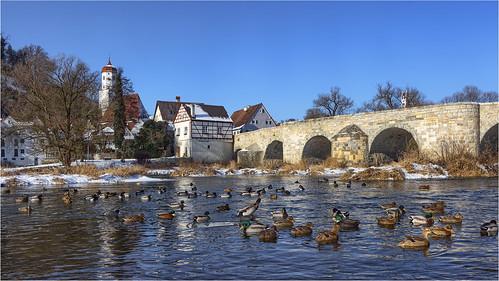 Harburg - Steinerne Brücke