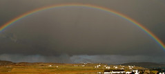 Rainbow and Approaching Shower Inishbofin (murtphillips) Tags: inishbofin rainbow shower beauty colour