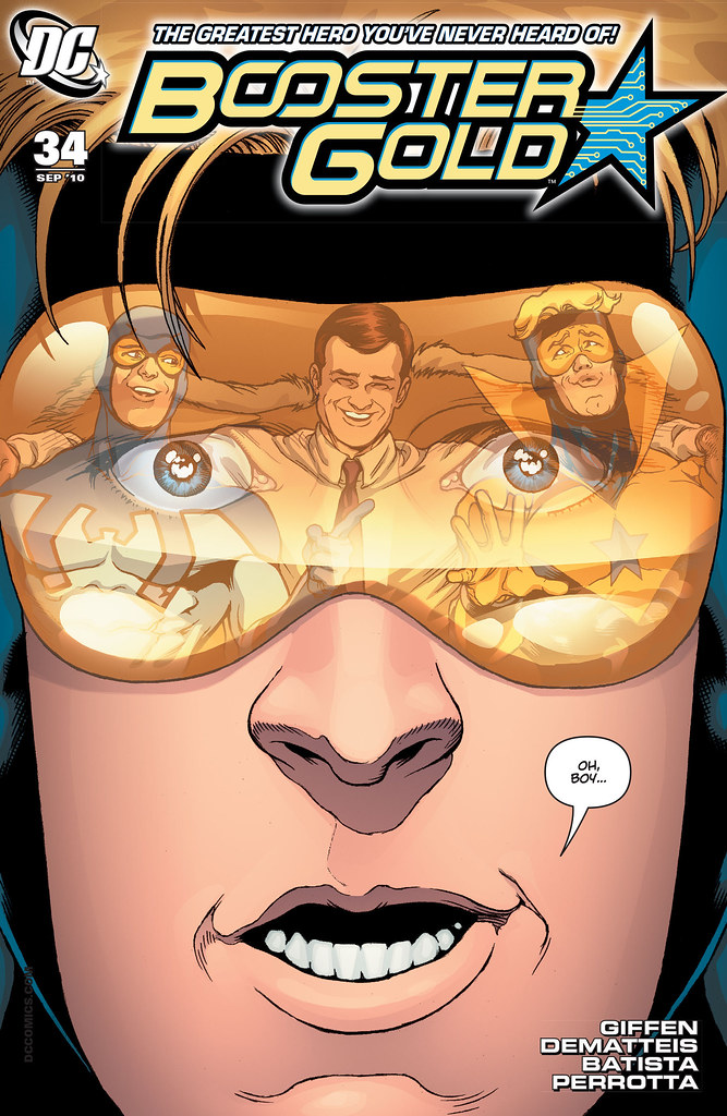 Booster Gold (2007) #34