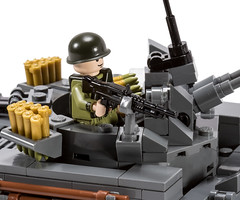 Brickmania M42A1 Duster Reissue! (BrickArms) Tags: brickmania duster vietnam lego brickarms bofors 40mmshell m42duster m42