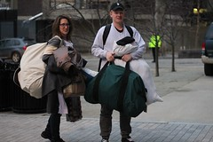 Moving-in (dailycollegian) Tags: move winter break over kennedy dorm southwest student parent bags moving spring semester 2017
