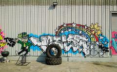 (gordon gekkoh) Tags: mike topdogs graffiti oakland tuffguys