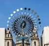 Pira Olímpica Rio 2016 (réplica em escala reduzida) (jadc01) Tags: d3200 nikon nikon1855mm riodejaneiro church olympicgames sculpture sky