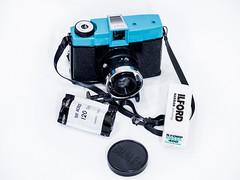 Camera Diana F+ (Andrey  B. Barhatov) Tags: white lomography toycamera cameras filmcamera dianaf cameracollection photothanks classicfilmcamera collectionofcameras barhatovcom
