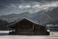 DSC_2454H (Ramiro Marquez) Tags: winter snow mountains clouds germany cabin hdr