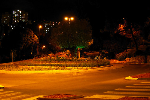 Technion Campus at night (Haifa, Israel)
