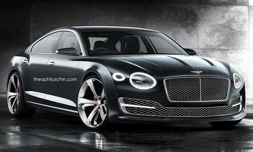 Bentley EXP 10 Speed 6 4-door Coupe