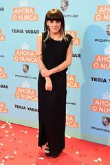 """Angy en la alfombra roja de la premiere de la película """"Ahora o Nunca"""""""