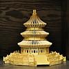 Wooden Model of the Temple of Heaven in Beijing -:- 4793 (buddhadog) Tags: wood templeofheaven challengeyouwinner cyunanimous brown orientalland ccc cy2 4wins 100vu 500vu 800 yourockwin