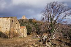 Divisando el castillo (SantiMB.Photos) Tags: espaa castle farmhouse geotagged ruins ruinas esp castillo cataluna masia requesens cantallops 2tumblr sal18250 2blogger geo:lat=4244471759 geo:lon=294418037