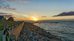 Days End Edit (Tidyshow) Tags: sunset sea sky sun beach water clouds coast scotland seaside rocks sony scottish highland f28 manfrotto 1650