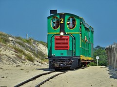 Le Petit Train du Cap Ferret (firedmanager) Tags: train tren railway arcachon vía narrowgauge ferrocarril trena capferret deutz estrecha víaestrecha petittrainducapferret