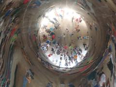 Where's Jae? - Cloud Gate Reflections (Jae at Wits End) Tags: city urban sculpture distortion reflection art mirror illinois warp tourist millenniumpark cloudgate thebean anishkapoor funmirror omphalos houseofmirrors carnivalmirror