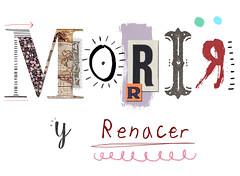 Morir y Renacer (Lauradez) Tags: collage illustration digital skull type dibujo ilustracion