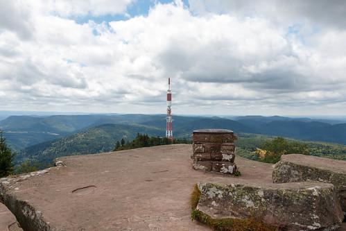 Vue depuis le sommet du Donon