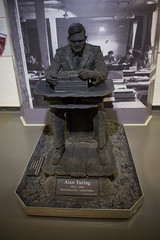 Alan Turing (_dChris) Tags: england history alan museum code enigma cipher ultra worldwar turing bletchleypark cryptography gchq codebreaking cryptanalysis