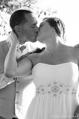Holding On (karin8700) Tags: wedding white black groom bride holding nikon dress d7100