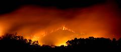 IMG_0346 (joaopedrodias) Tags: red wild black portugal broken nature night canon fire eos death die sad earth smoke porto wildfire amarante 450d travanca