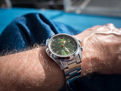 Seiko Alpinist SARB017 (rickmcnelly) Tags: seiko sarb017 alpinist gx8 pl15 watch