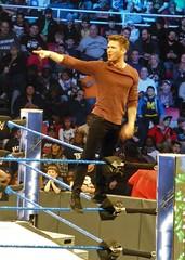 Shakedown 41 (GabboT) Tags: wwe shakedown wrestling usa joe louis arena detroit ryan phillippe ryanphillippe shooter cruel intentions cruelintentions top rope toprope