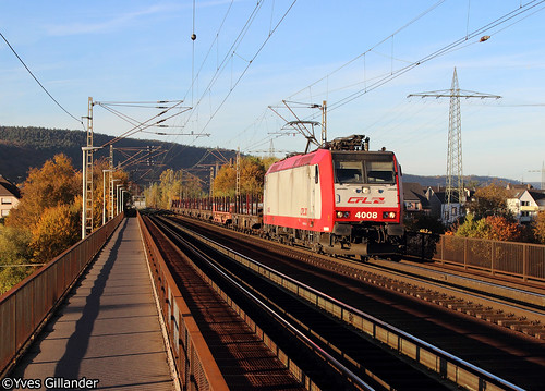CFL Cargo 4008, Trier-Pfalzel 30.10.2016