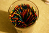 The spiral of colour (Falcon Gillis) Tags: macro photography colour toothpicks household items
